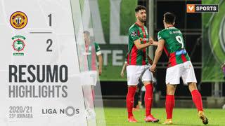 Liga NOS (23ªJ): Resumo CD Nacional 1-2 Marítimo M.