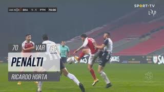 SC Braga, Penálti, Ricardo Horta aos 70'