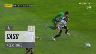 SC Farense, Caso, Alex Pinto aos 11'