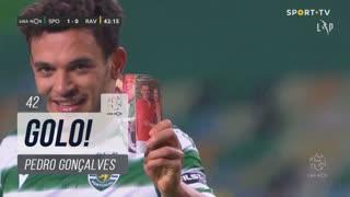 GOLO! Sporting CP, Pedro Gonçalves aos 42', Sporting CP 1-0 Rio Ave FC