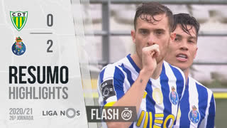 I Liga (26ªJ): Resumo Flash CD Tondela 0-2 FC Porto