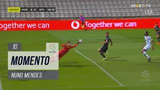 Sporting CP, Jogada, Nuno Mendes aos 10'