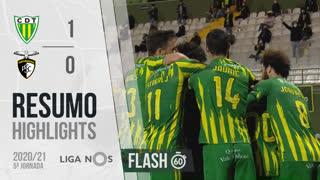 I Liga (5ªJ): Resumo Flash CD Tondela 1-0 Portimonense