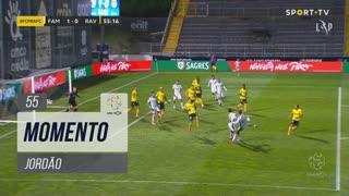 FC Famalicão, Jogada, Jordão aos 55'