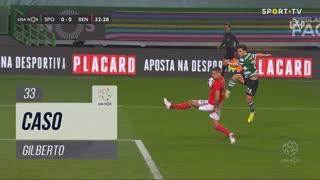 SL Benfica, Caso, Gilberto aos 33'