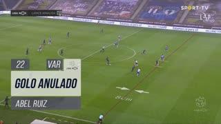 SC Braga, Golo Anulado, Abel Ruiz aos 22'