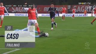 SC Braga, Caso, Paulinho aos 20'