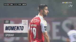 SC Braga, Jogada, Sporar aos 69'
