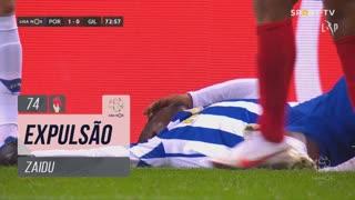 FC Porto, Expulsão, Zaidu aos 74'