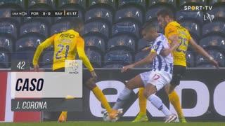 FC Porto, Caso, J. Corona aos 42'