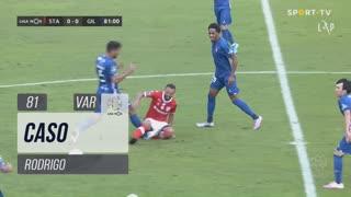 Gil Vicente FC, Caso, Rodrigo aos 81'