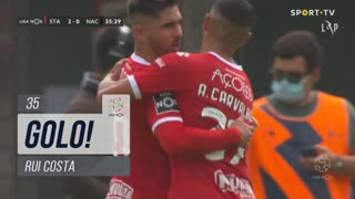 GOLO! Santa Clara, Rui Costa aos 35', Santa Clara 2-0 CD Nacional