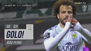 GOLO! CD Tondela, João Pedro aos 66', FC P.Ferreira 1-1 CD Tondela