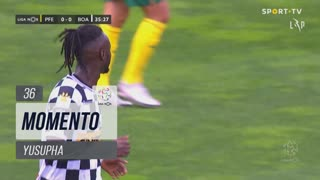 Boavista FC, Jogada, Yusupha aos 36'