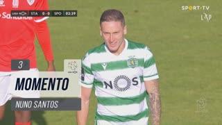 Sporting CP, Jogada, Nuno Santos aos 3'