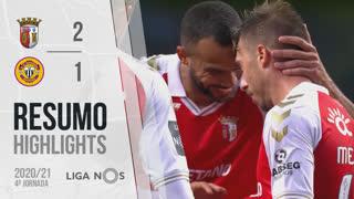I Liga (4ªJ): Resumo SC Braga 2-1 CD Nacional