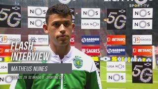 Matheus Nunes feliz por poder ajudar a equipa