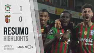Liga NOS (30ªJ): Resumo Marítimo M. 1-0 SC Braga