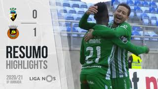 Liga NOS (5ªJ): Resumo SC Farense 0-1 Rio Ave FC