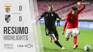 Liga NOS (17ªJ): Resumo SL Benfica 0-0 Vitória SC