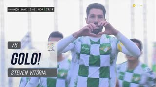 GOLO! Moreirense FC, Steven Vitória aos 78', CD Nacional 0-1 Moreirense FC
