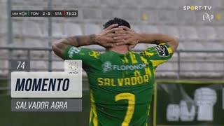 CD Tondela, Jogada, Salvador Agra aos 74'