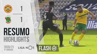 Liga NOS (5ªJ): Resumo Flash CD Nacional 1-1 FC P.Ferreira