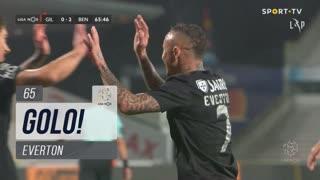 GOLO! SL Benfica, Everton aos 65', Gil Vicente FC 0-2 SL Benfica