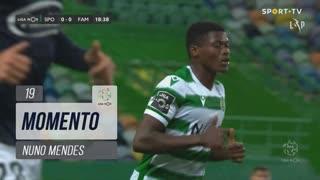 Sporting CP, Jogada, Nuno Mendes aos 19'