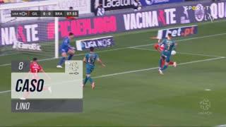 Gil Vicente FC, Caso, Lino aos 8'