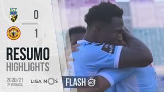 I Liga (2ªJ): Resumo Flash SC Farense 0-1 CD Nacional