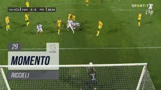 FC Famalicão, Jogada, Riccieli aos 29'