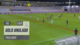 Sporting CP, Golo Anulado, Paulinho aos 45'