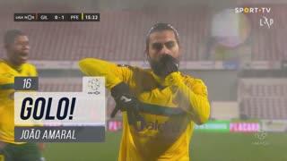 GOLO! FC P.Ferreira, João Amaral aos 16', Gil Vicente FC 0-1 FC P.Ferreira