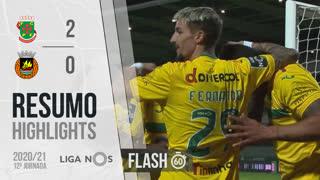 Liga NOS (12ªJ): Resumo Flash FC P.Ferreira 2-0 Rio Ave FC
