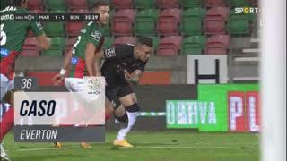SL Benfica, Caso, Everton aos 36'