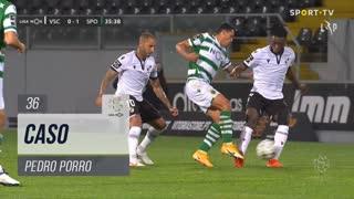 Sporting CP, Caso, Pedro Porro aos 36'