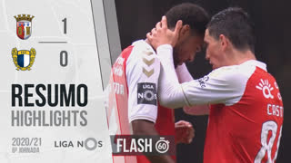 Liga NOS (6ªJ): Resumo Flash SC Braga 1-0 FC Famalicão