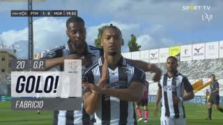 GOLO! Portimonense, Fabricio aos 20', Portimonense 1-0 Moreirense FC