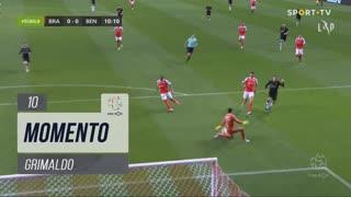 SL Benfica, Jogada, Grimaldo aos 10'