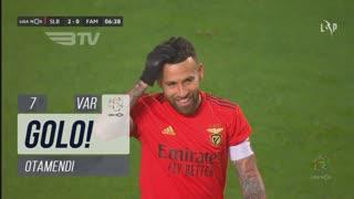 GOLO! SL Benfica, Otamendi aos 7', SL Benfica 2-0 FC Famalicão