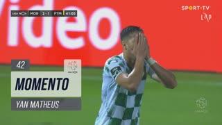 Moreirense FC, Jogada, Yan Matheus aos 42'