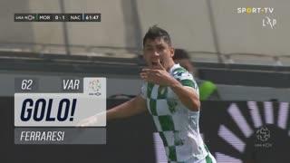 GOLO! Moreirense FC, Ferraresi aos 62', Moreirense FC 1-1 CD Nacional