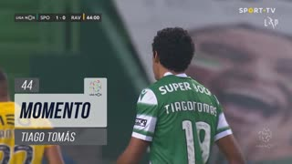 Sporting CP, Jogada, Tiago Tomás aos 44'