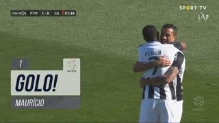 GOLO! Portimonense, Maurício aos 1', Portimonense 1-0 Gil Vicente FC