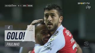GOLO! SC Braga, Paulinho aos 4', Boavista FC 0-1 SC Braga