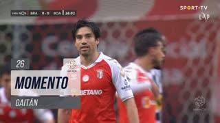 SC Braga, Jogada, Gaitán aos 26'