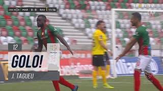 GOLO! Marítimo M., J.Tagueu aos 12', Marítimo M. 1-0 Rio Ave FC