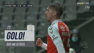 GOLO! SC Braga, Iuri Medeiros aos 73', SC Braga 1-0 Gil Vicente FC