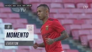 SL Benfica, Jogada, Everton aos 8'